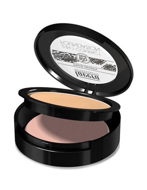 Fond de teint compact 2en1 Miel 03 10 gr Lavera maquillage minéral Herboristerie de paris