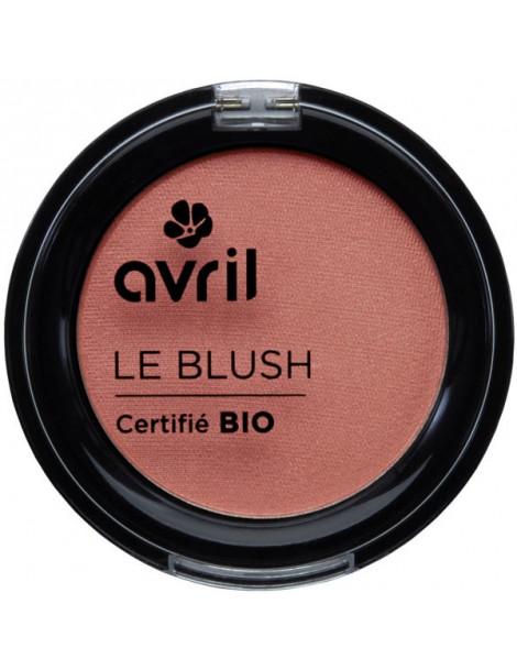 Blush Rose Nacré 2.5 gr Avril Beauté maquillage bio du teint Herboristerie de paris