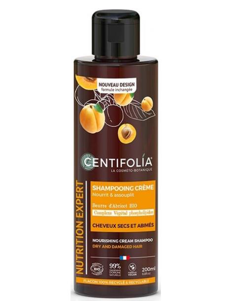 Shampoing crème cheveux secs 200ml Centifolia