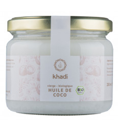 Huile de Coco Extra Vierge 250g Khadi