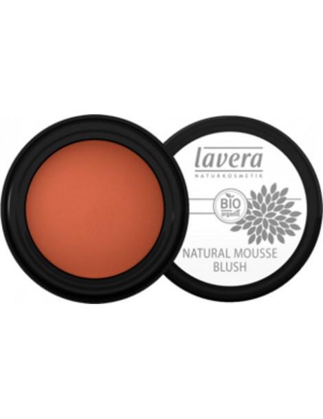 Fard à joues mousse soft cherry 02 4 g Lavera blush Herboristerie de paris