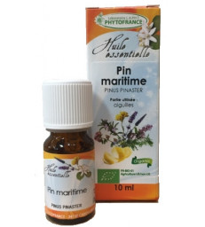 Huile essentielle Pin Maritime Aiguilles bio 10ml Phytofrance