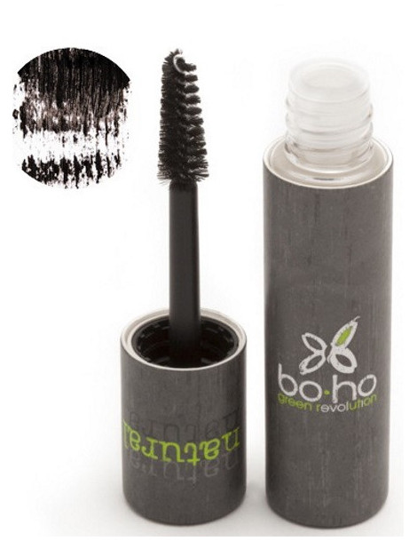 Mascara naturel Précision noir 01 6 ml Boho Green maquillage bio Herboristerie de paris