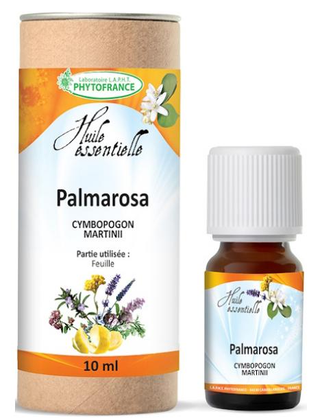Huile essentielle de Palmarosa Bio 10 ml Phytofrance Herboristerie de Paris