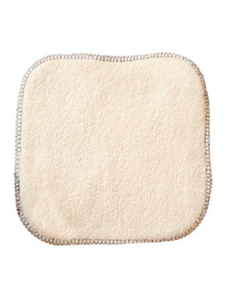 La débarbouillette 100% coton biologique 20 X 20 cm Lulu Nature lingette lavable Herboristerie de paris