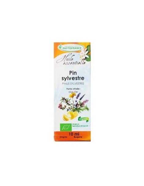 Huile essentielle de Pin Sylvestre aiguilles Bio 10 ml  Phytofrance Herboristerie de paris