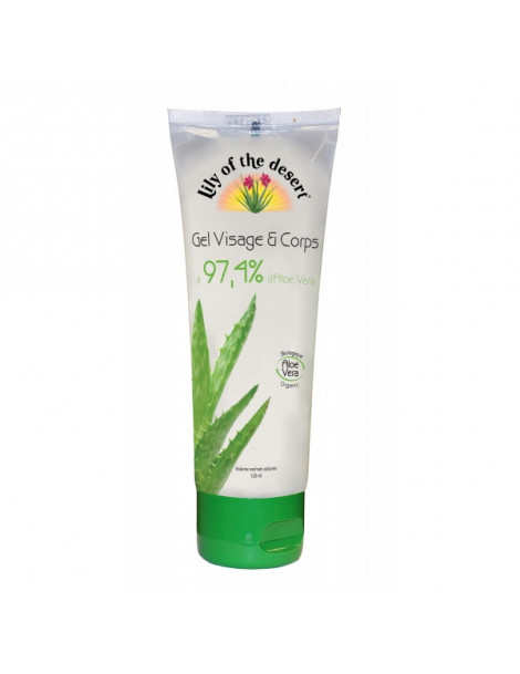 Gel d'Aloe Vera 97,4% 120ml Lily of the Desert