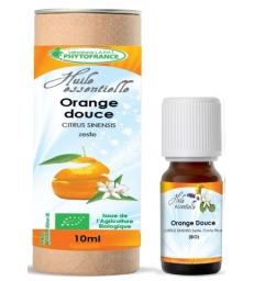 Huile essentielle d'orange douce bio 10ml Phytofrance