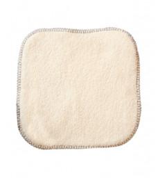10 Lingettes bébé 100% coton biologique 15X15cm Lulu Nature