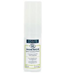 Spray buccal purifiant haleine fraîche à la menthe 15 ml Coslys