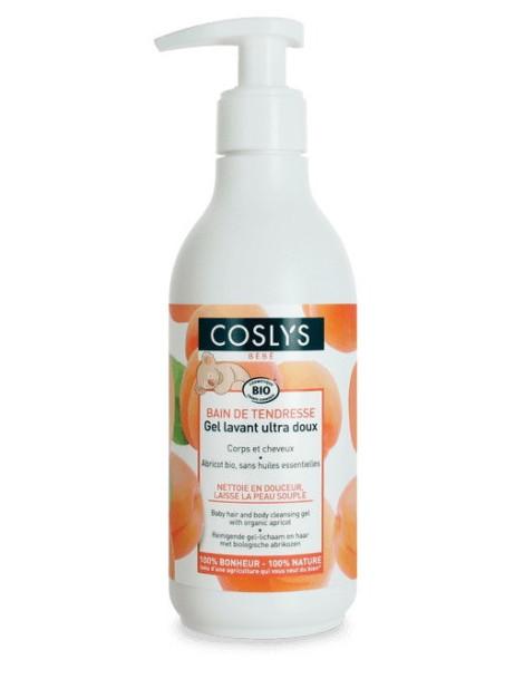 Gel lavant ultra doux Bain de tendresse 250 ml Coslys bébé Herboristerie de paris