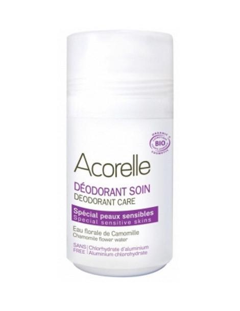 Déodorant soin spécial peaux sensibles 50 ml Acorelle