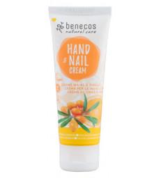 Crème mains et ongles Argousier et Orange 75 ml Benecos