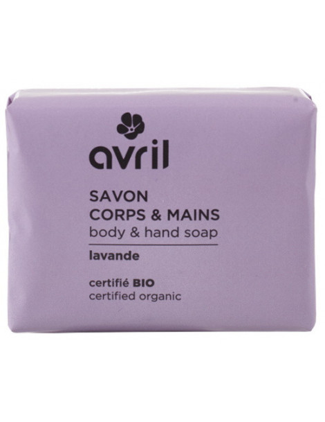 Savon de Provence Lavande 100g Avril beauté savon traitant Herboristerie de paris