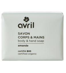 Savon de Provence Corps et Mains Amande 100 gr Avril beauté