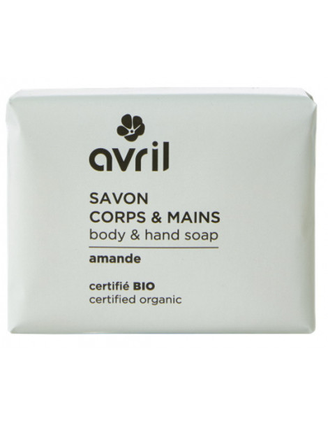 Savon de Provence Corps Mains Amande 100 gr Avril beauté savon traitant peaux sensibles Herboristerie de paris