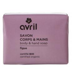 Savon de Provence Corps et Mains Figue 100g Avril Beauté