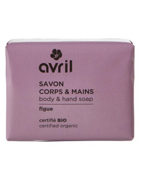 Savon de Provence Corps et Mains Figue 100g Avril Beauté Herboristerie de paris