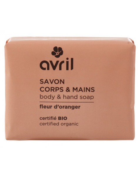 Savon de Provence Fleur d'oranger 100 gr Avril beauté Herboristerie de paris