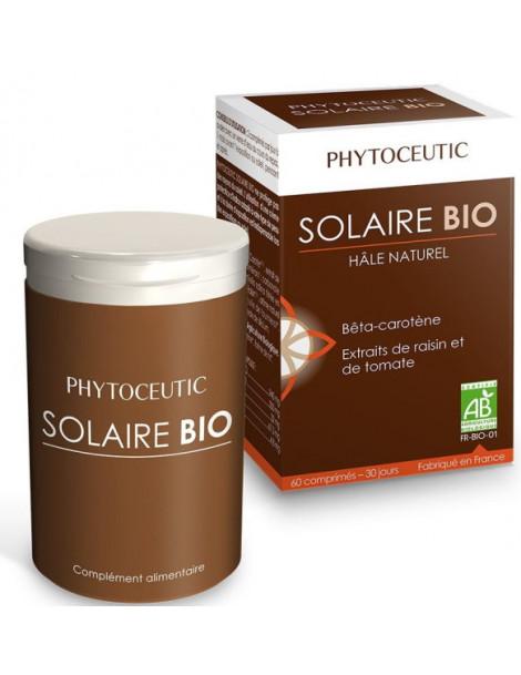 Solaire bio Hâle naturel 60 comprimés Phytoceutic Herboristerie de paris