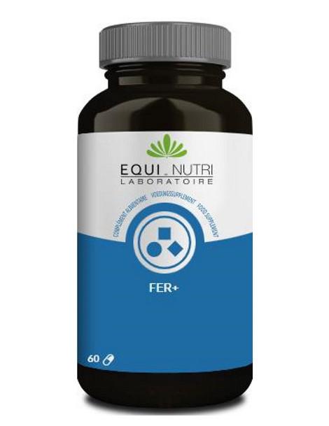 Fer plus 60 gelules Equi - Nutri pidolate de fer Herboristerie de paris