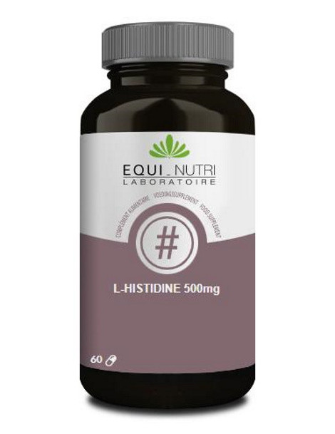 L-Histidine 500mg Equi - Nutri