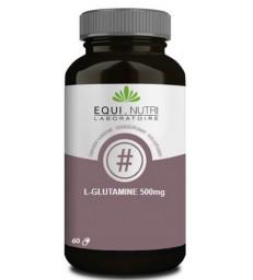 L Glutamine 500 60 gélules végétales 500mg Equi-nutri