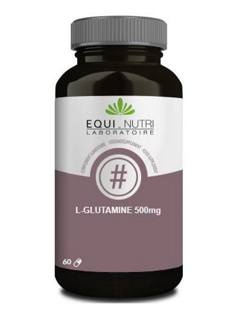 L Glutamine 60 gélules végétales 500mg Equi-nutri Herboristerie de paris
