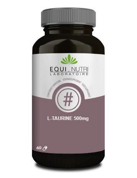 L-Taurine 60 gélules de 500mg Equi - Nutri acide aminé soufré Herboristerie de paris