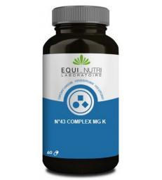 No 43 complex Mg K Magnésium Potassium 60 gélules végétales Equi - Nutri