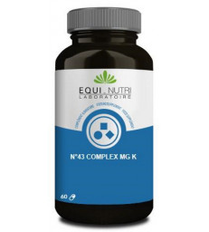 No 43 complex Mg K 60 gélules végétales Equi - Nutri