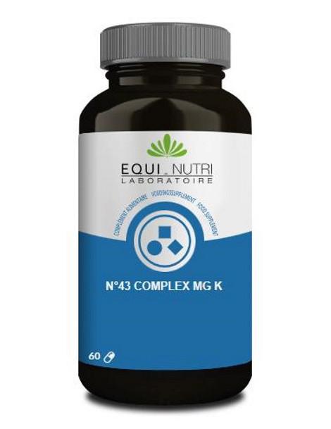 No 43 complex Mg K 60 gélules végétales Equi - Nutri Herboristerie de paris