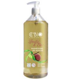 Shampooing douche Fruits d'Eté  1 Litre C'bio