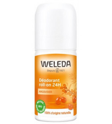 Déodorant roll on 24h Argousier 50ml Weleda