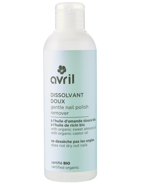 Dissolvant doux 200 ml Avril Beauté ongles Herboristerie de paris