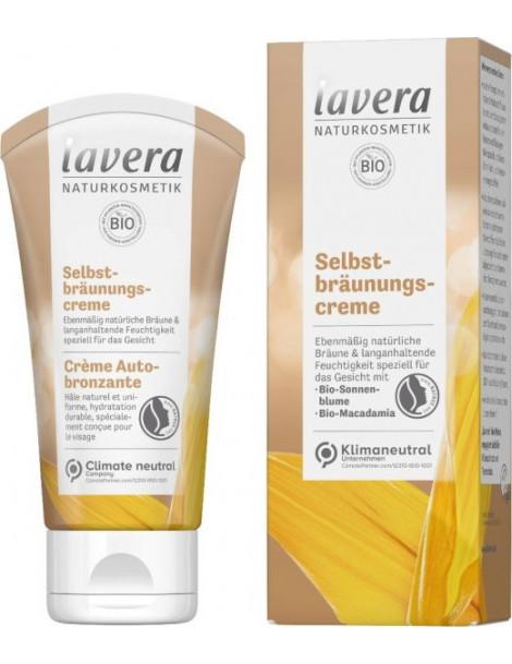 Crème Autobronzante 50 ml Lavera hâle naturel Herboristerie de paris