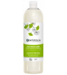 Eau Micellaire pour toute la famille ginkgo 500ml Centifolia