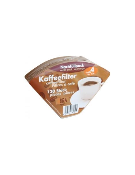 120 filtres a cafe non blanchis n°4 Droguerie Ecologique Herboristerie de paris