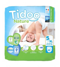 22 Couches Single Pack (T5/XL) 12/25kg Tidoo