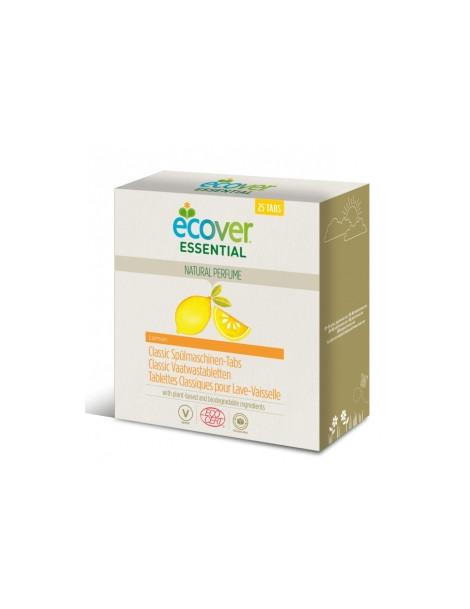 25 Tablettes Lave Vaisselle parfum citron Ecover Herboristerie de Paris