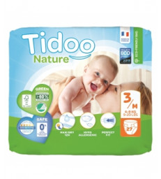 27 Couches Eco Single Pack (T3/M) 4/9kg Tidoo