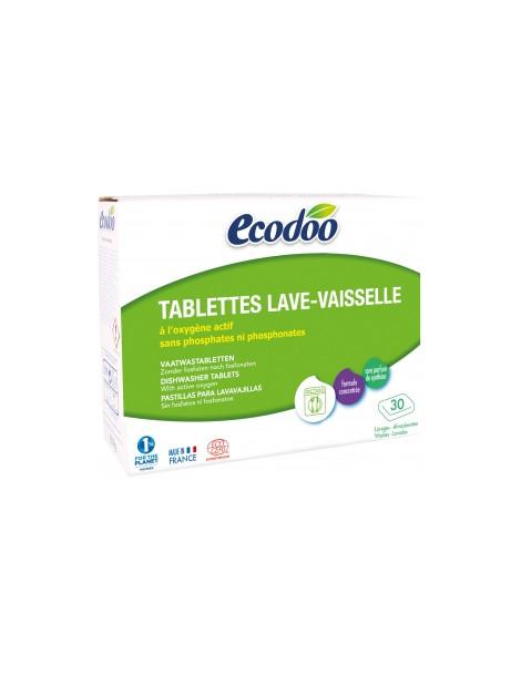 30 tablettes Lave Vaisselle à l'Oxygène actif  Ecodoo Herboristerie de Paris