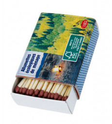 4 boîtes 100 allumettes FSC Mixte Droguerie Ecologique