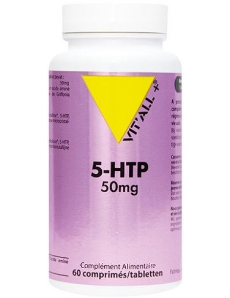 5 HTP Zen 50mg Vit'all + Herboristerie de Paris précurseur de la sérotonine