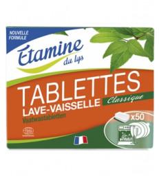 50 Tablettes lave vaisselle 1kg Etamine du Lys