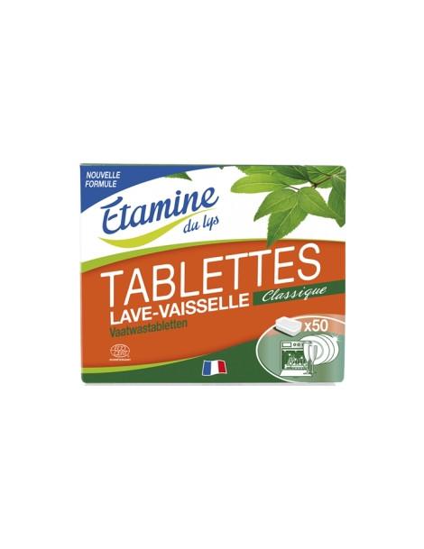 50 Tablettes lave vaisselle 1kg Etamine du Lys Herboristerie de Paris