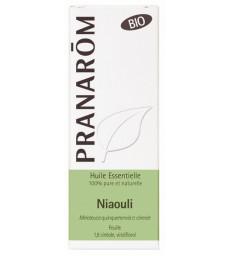 Niaouli Bio Flacon compte gouttes 10ml Pranarôm
