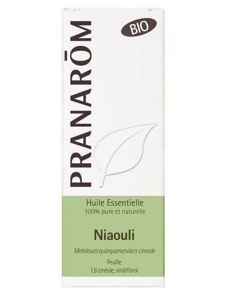 Niaouli Bio Flacon compte gouttes 10ml Pranarôm Herboristerie de paris