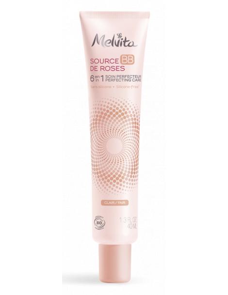 BB crème Nectar de roses clair 40 ml Melvita bb cream Herboristerie de paris