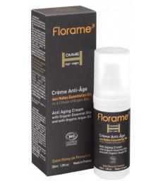 Crème anti-âge bio Homme 30 ml Florame